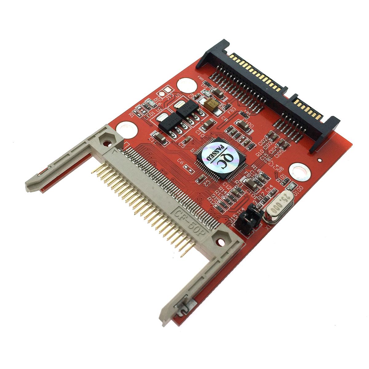 Картридер для подключения Compact Flash к разъему SATA на вашем устройстве, модель ST5002, Espada