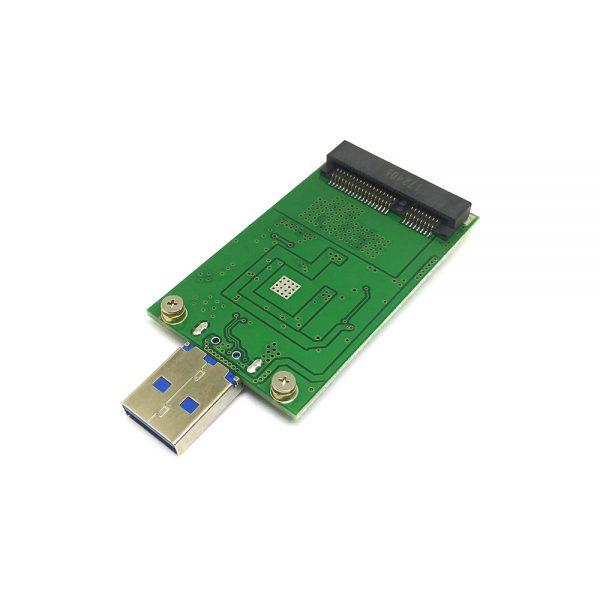 Внешний корпуc для mSATA SSD, USB3.0 (PA6011)