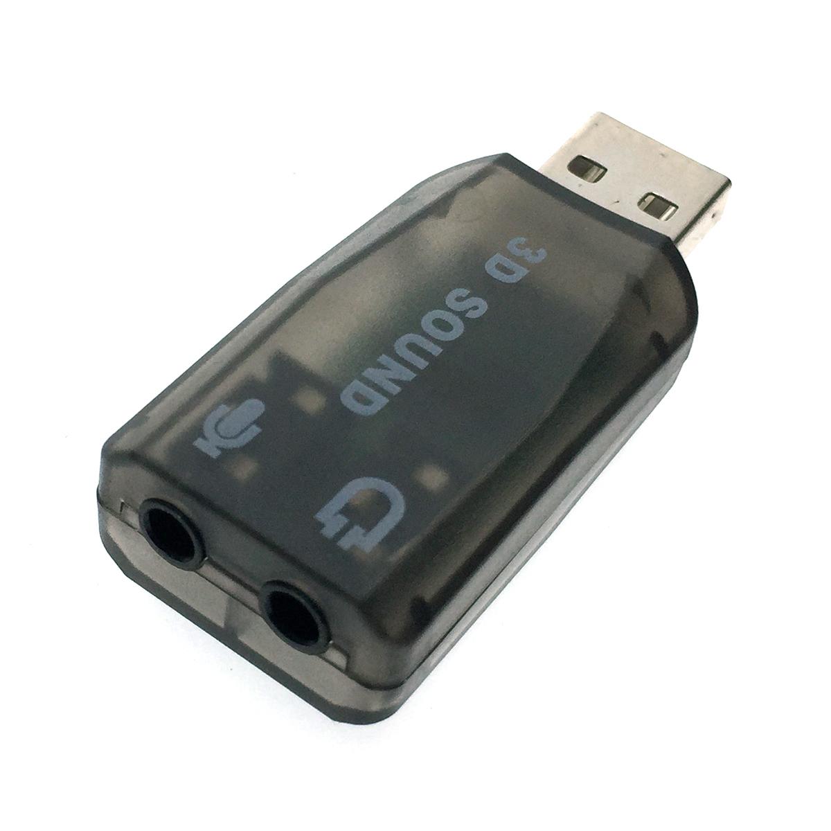 Внешняя звуковая карта USB, модель PAAU001, Espada