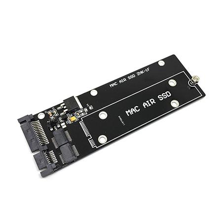 Переходник для подключения SSD от MacBook Air 2010/2011 /модели: A1369, MC503, MC965, A1370, MC505, MC968, A1377, MC506/ к разъему SATA на вашем устройстве