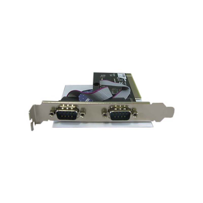 Контроллер PCI to 2 RS232 порт (2 COM/SERIAL port), chip 60806A, Espada