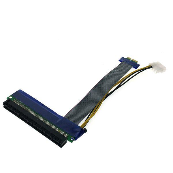 Кабель удлинитель PCI-E x1 Male to PCI-E x16 Female с питанием Espada EPCIEX1-16pw