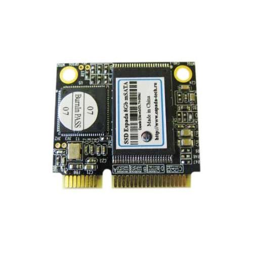 Жесткий диск SSD 8Gb mSATA Espada ESM-mSATA.7h-008MJ