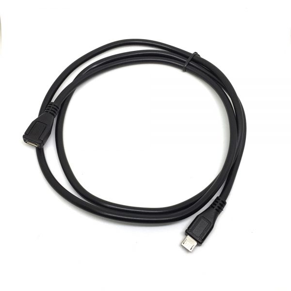 Кабель micro USB 2.0 type B male to micro USB type B female 1м Espada, EUSBmcMF1m