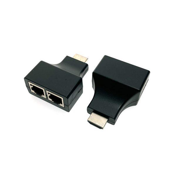 Удлинитель HDMI по витой паре Espada, EDH56, до 30 метров