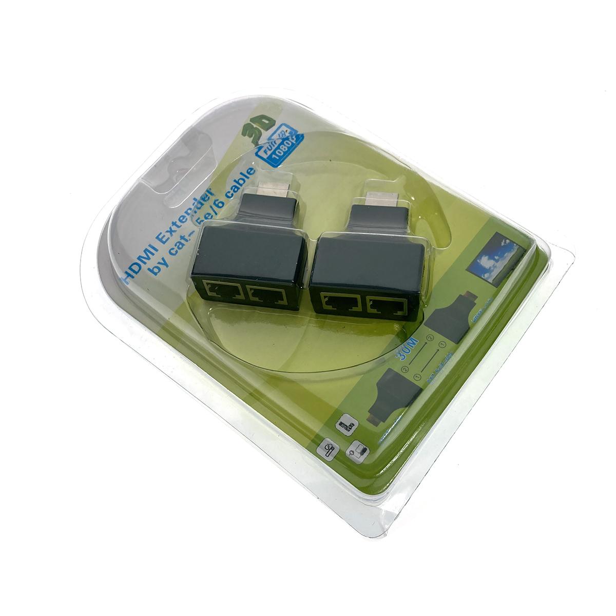 Удлинитель HDMI по витой паре Espada EDH56, до 30 метров
