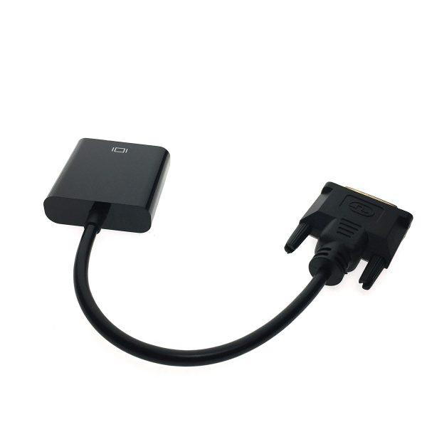 Конвертер DVI-D male 25 pin to VGA /D-Sub/ female 15pin, Espada EdviDvga