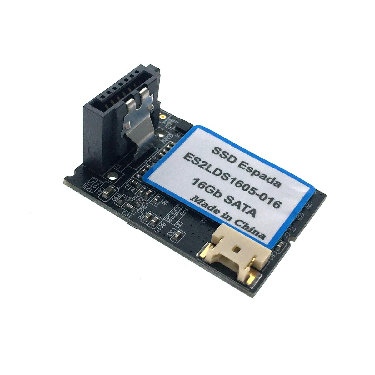 Твердотельный накопитель SSD DOM 16Gb SATA Espada горизонтальный с кабелем питания ES2LDS1605-016