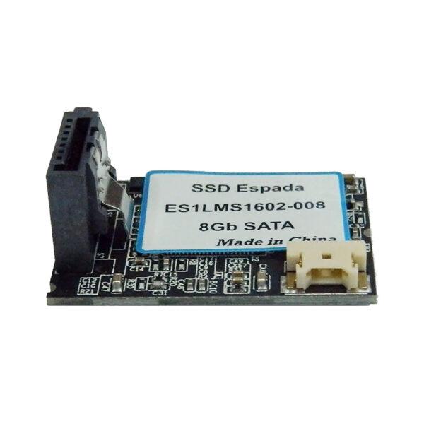 Твердотельный накопитель SATA DOM 8Gb SATA ES1LMS1602-008 горизонтальный