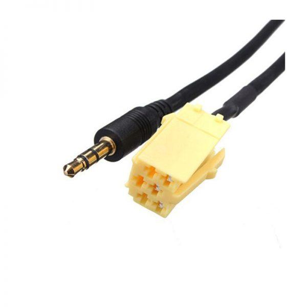 Переходник AUX to 3,5mm audio 1,2м для Fiat Grande Punto, Espada AUX40884