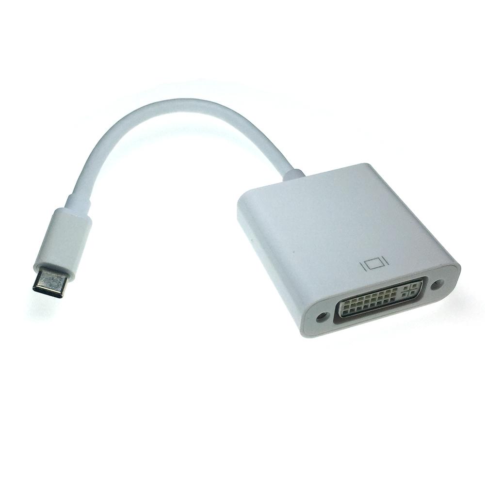 Видео конвертер USB 3.1 Type C Male to DVI type I 24+5 pin female, EusbCdvi