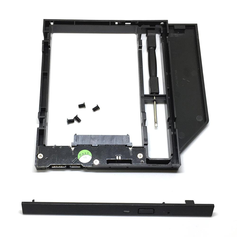 "Адаптер оптибей Espada SS90 SATA/miniSATA/SlimSATA 9мм для подключения HDD/SSD 2,5"" к ноутбуку вместо DVD"