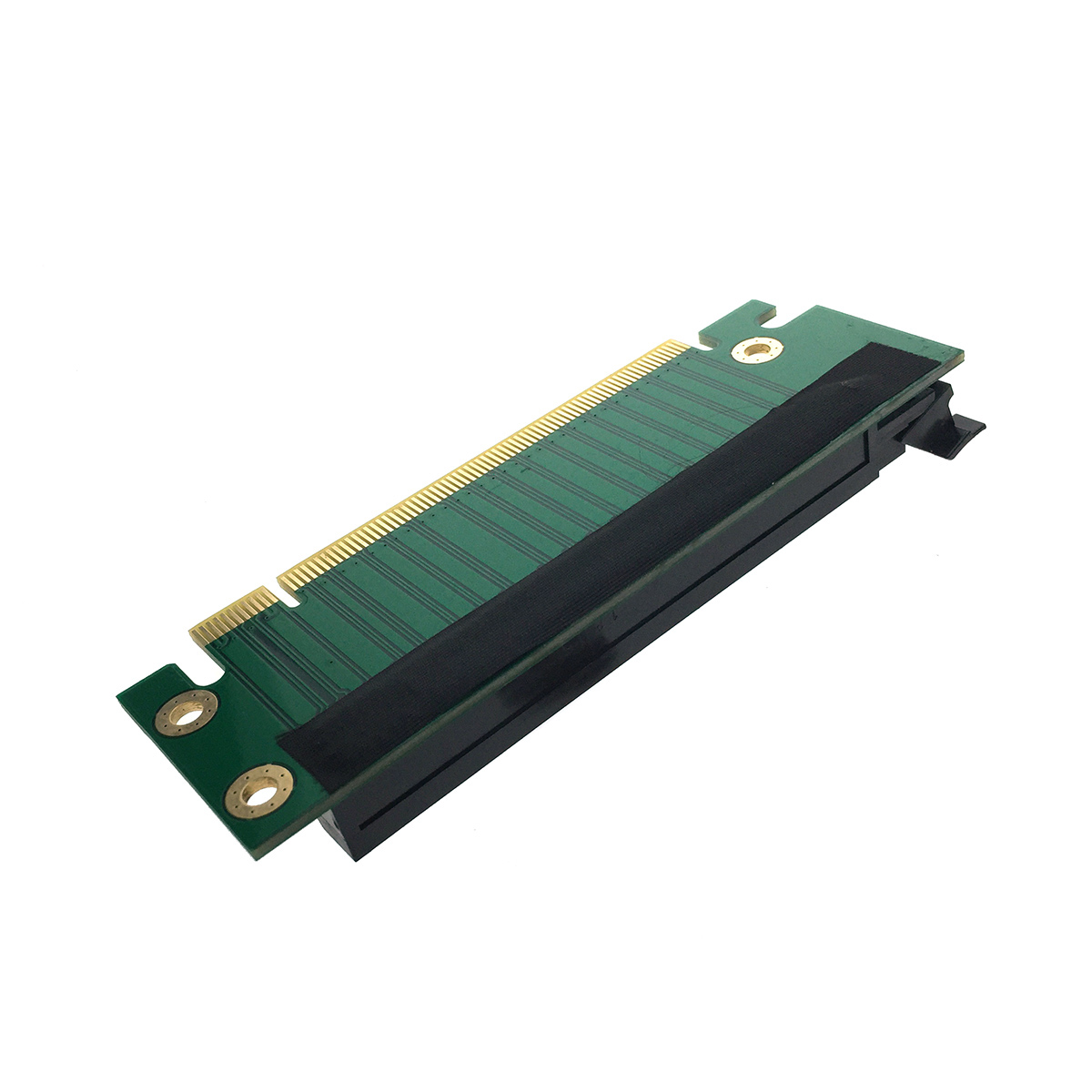 Переходник PCI-E X16 M to PCI-E X16 F, 90° угловой 2U, EPCIE162U