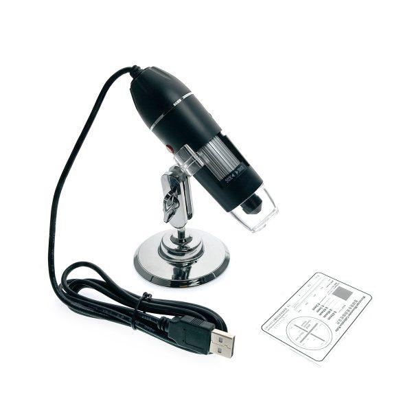 Портативный цифровой USB-микроскоп Espada U500X c камерой 0,3 МП и увеличением 500x