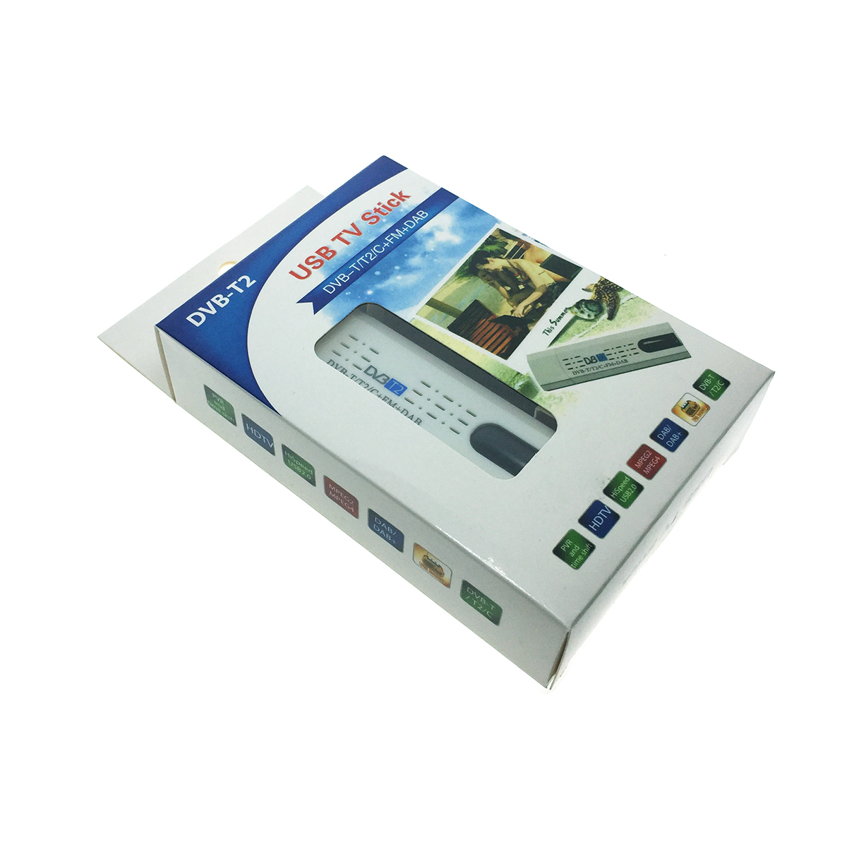 USB цифровой ТВ тюнер dvb t2, Espada ESP-DVBT2