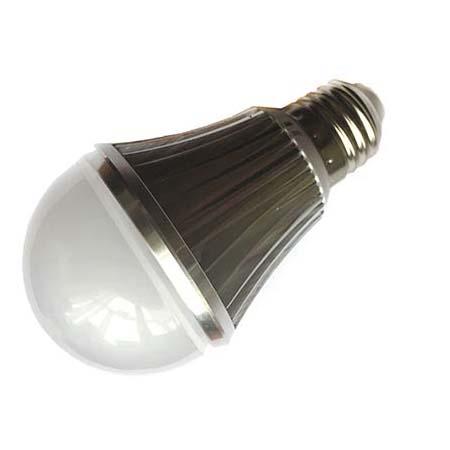 Светодиодная LED лампа Е27 с датчиком света/освещенности Espada E27-6-L-6W 100-265V light sensor LED 6W 100-265V
