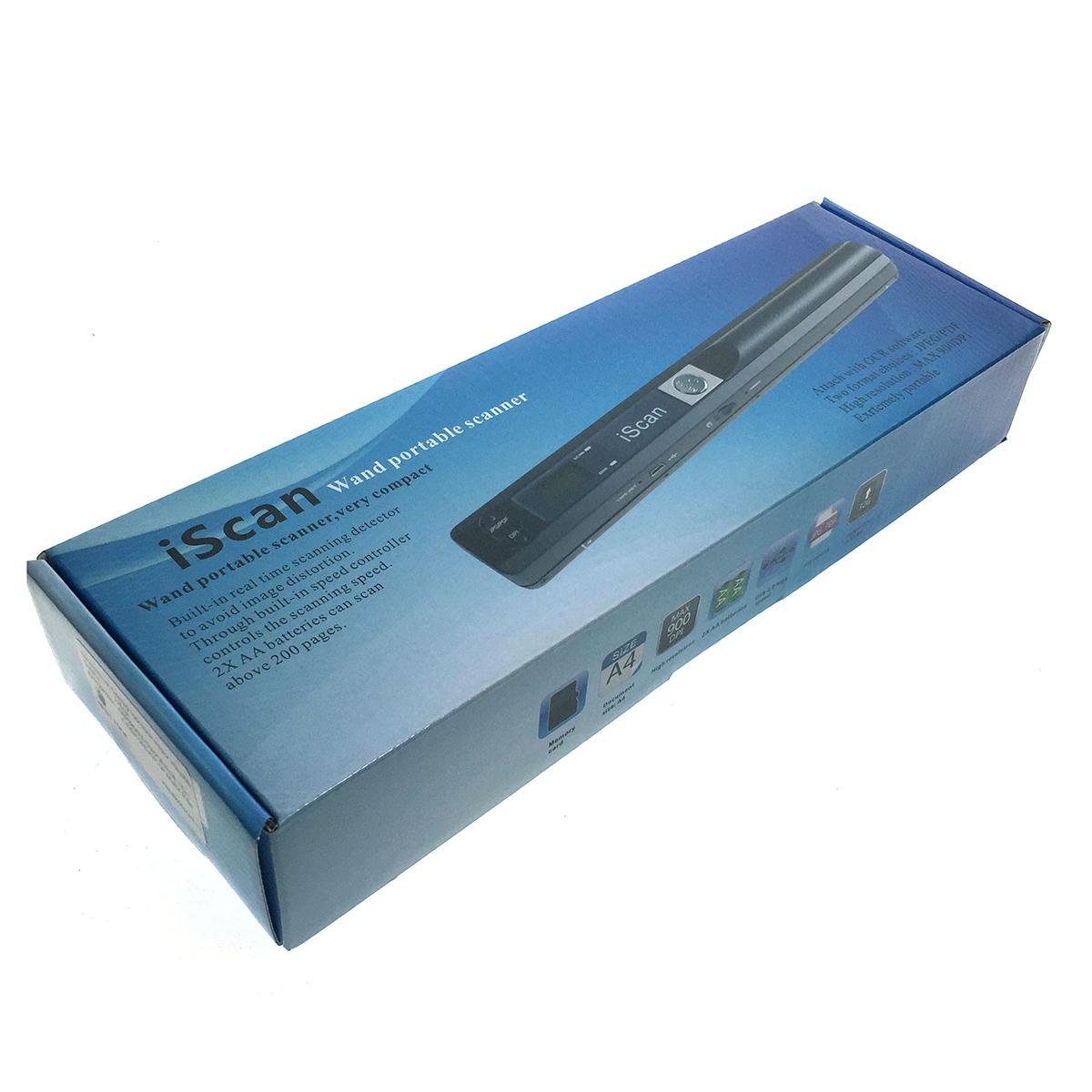 Портативный ручной сканер Espada E-iScan, А4 черный