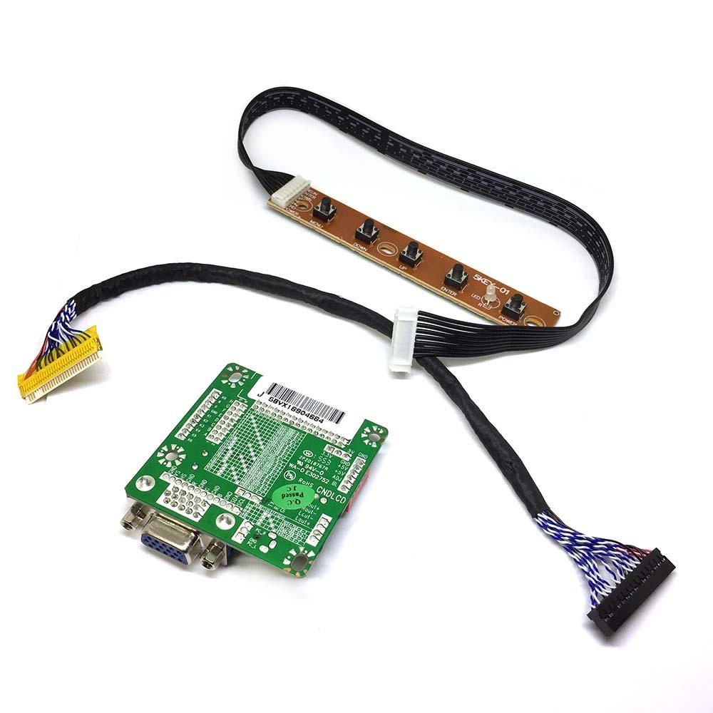 Универсальный скалер /контроллер/ монитора + LVDS кабель+плата управления Espada MT561-B V2.1