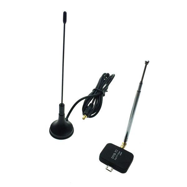 Micro USB цифровой TV тюнер DVB-T2 для смартфонов/планшетов под Android, HD809 Espada