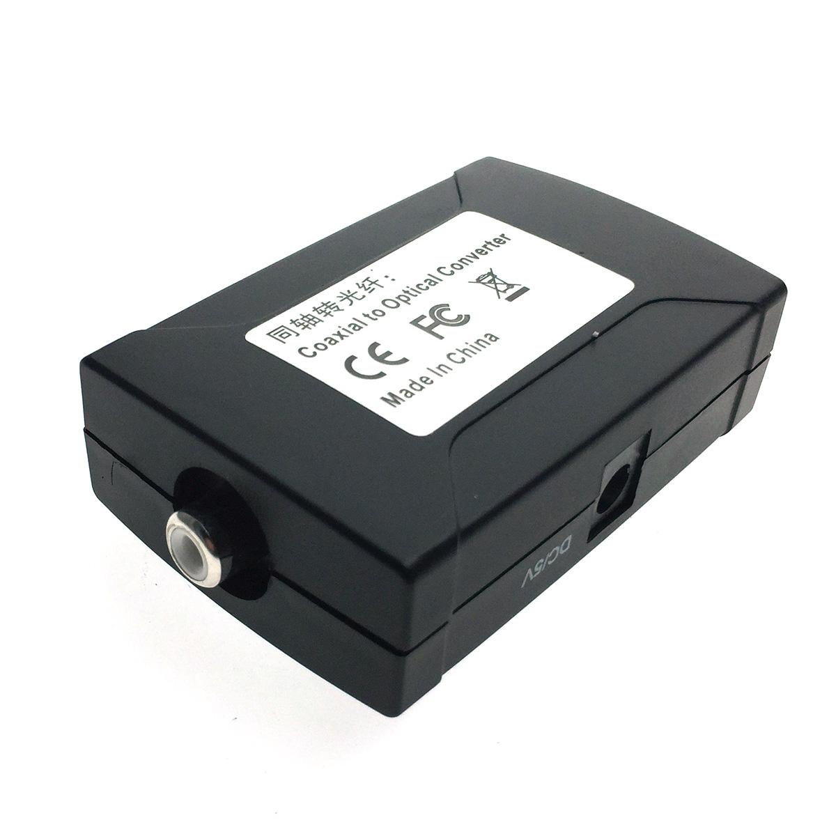 Аудио конвертер RCA (Coaxial) to Toslink ( Optical), модель EDH-R/T