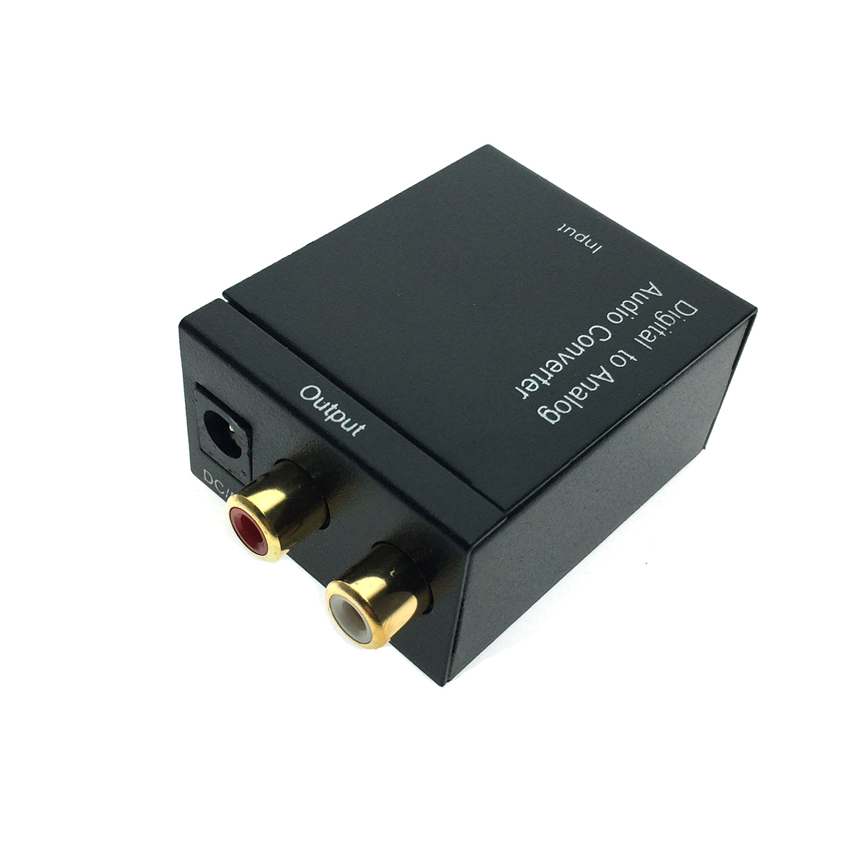 Аудио конвертер 1xToslink + 1RCA(Coaxil) to 2x RCA (analog), модель EDH-TR/R, Espada