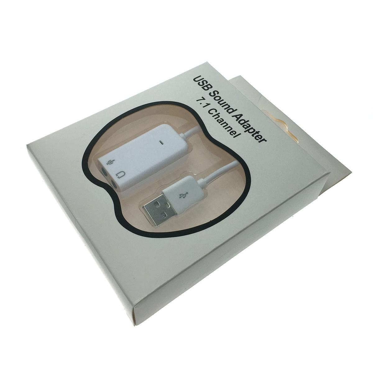 Внешняя звуковая карта USB, модель PAAU003, Espada