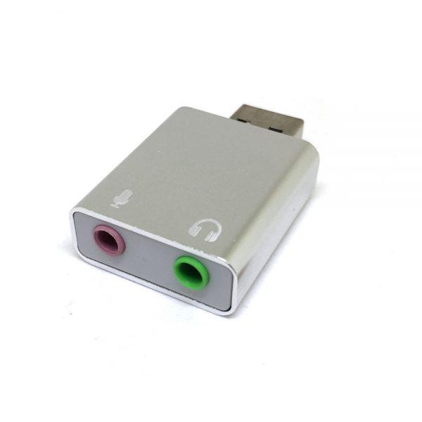 Внешняя звуковая карта USB, модель PAAU005, Espada