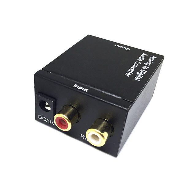 Аудио конвертер RCA (analog) to S/PDIF(coaxil + Toslink), модель EDH-RS