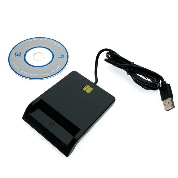 USB Считыватель сим и пластиковых смарт-карт, Smartread, Espada