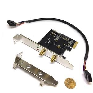 Контроллер M2 to PCI-E c выходами на 2 антенны, модель EM201B, Espada