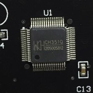Контроллер PCI, 1порт LPT, чип WCH351, модель PCI1PWCH, Espada