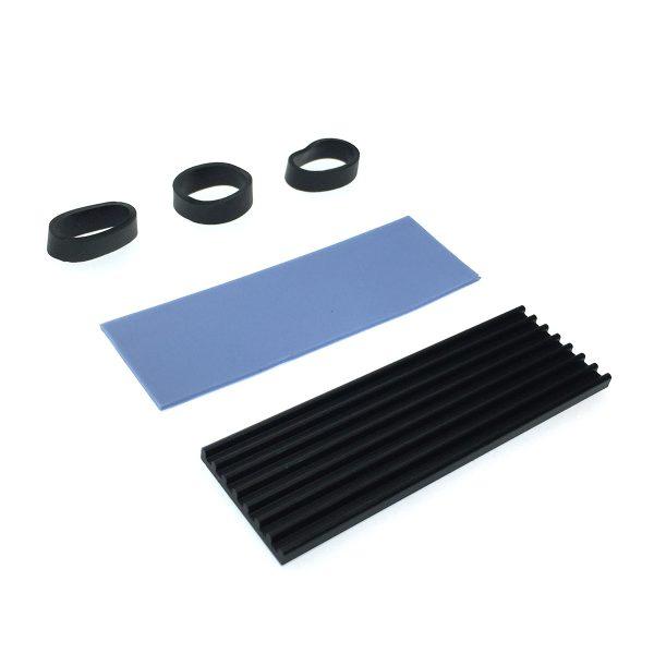Радиатор для SSD NGFF 2280 алюминиевый, ESP-R1, Espada