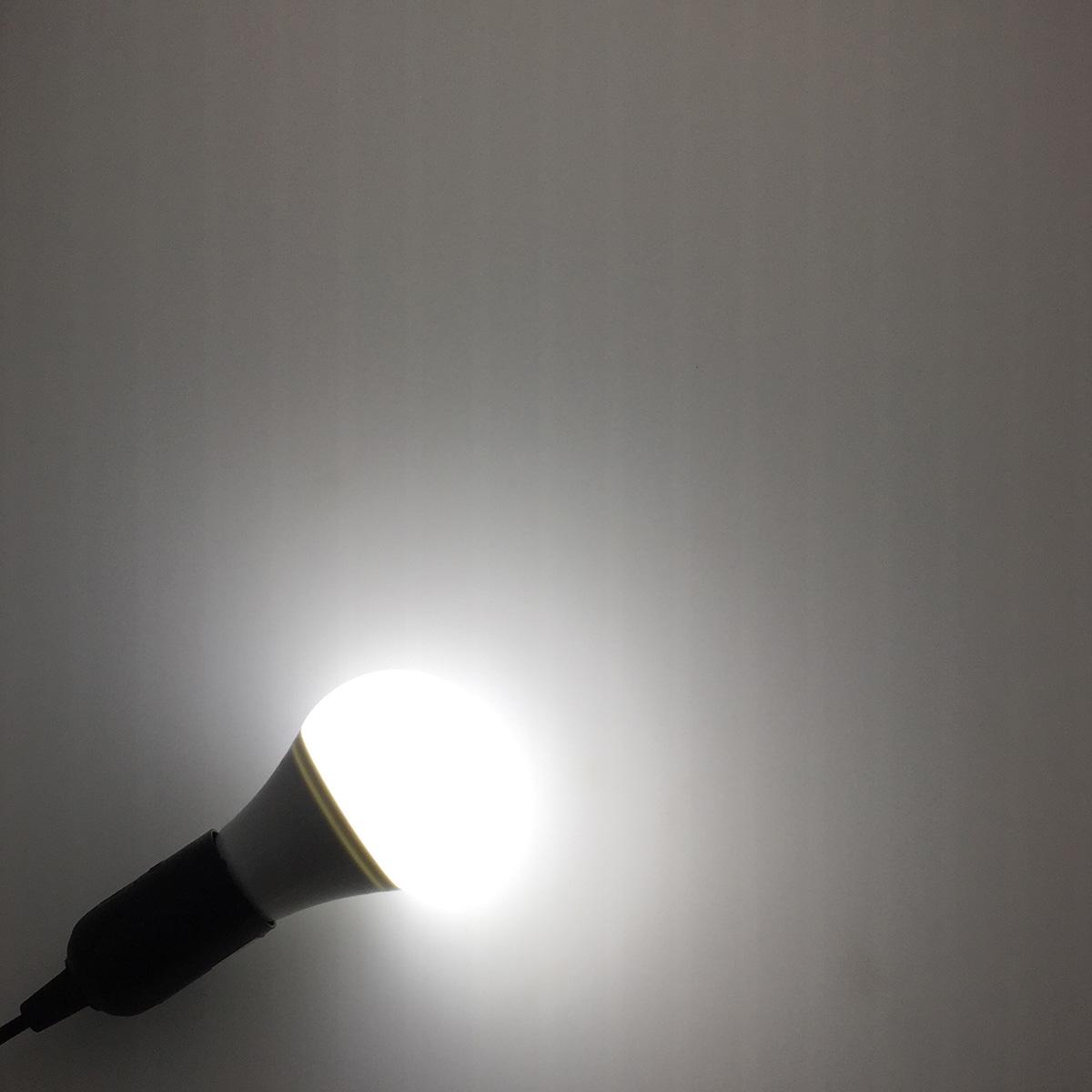Светодиодная лампа Е27 с датчиком света /освещенности Espada E27-14-L-7W 100-265V