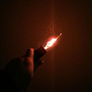 Светодиодная LED лампа Е14 Пламя ESPADA E-CW14-3W
