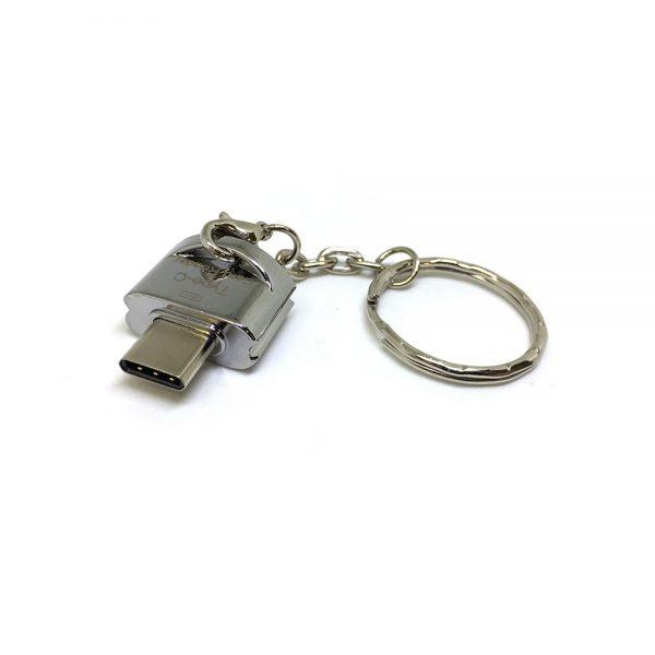 Картридер USB type-C to MicroSD/TF, модель ESP-CSD, Espada