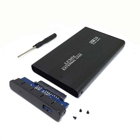 """Внешний корпус USB3.0 для 2.5"""" HDD/SSD Sata6G, модель HU307B, Espada /external case/Enclosure/внешний бокс/контейнер/кейс/, цвет черный"""