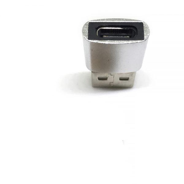 Переходник USB 2.0 Type A Male to Type C Female c функцией OTG, Espada, E2.0MtyCF