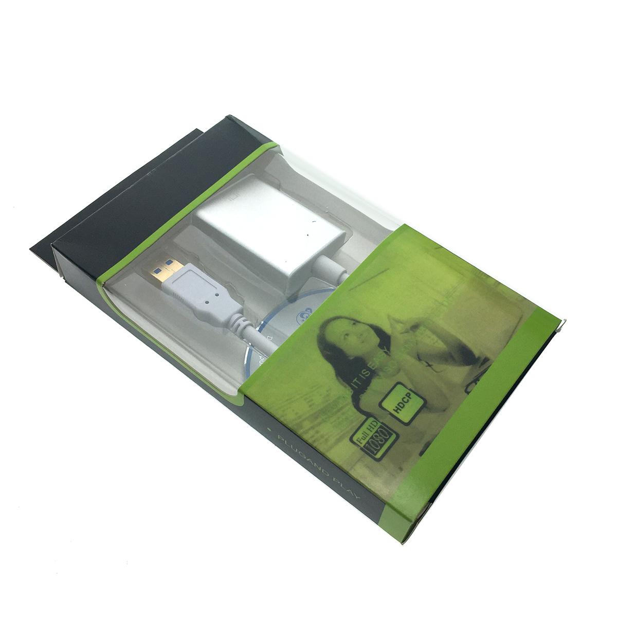 Видеоконвертер USB 3.0 to HDMI, EU3HDMI Espada