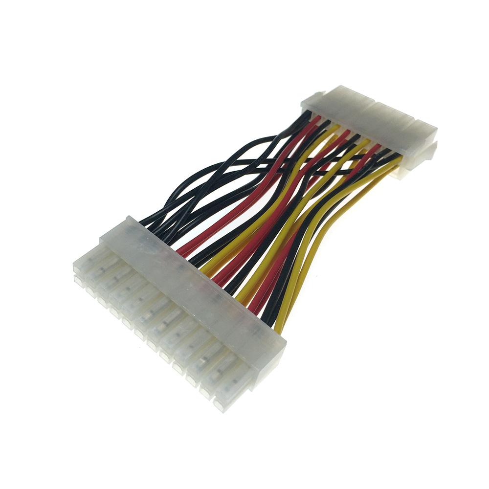 Переходник питания с блока питания ATX компьютера 20 Pin на материнскую плату 24 Pin Emb24pinmf 20см Espada