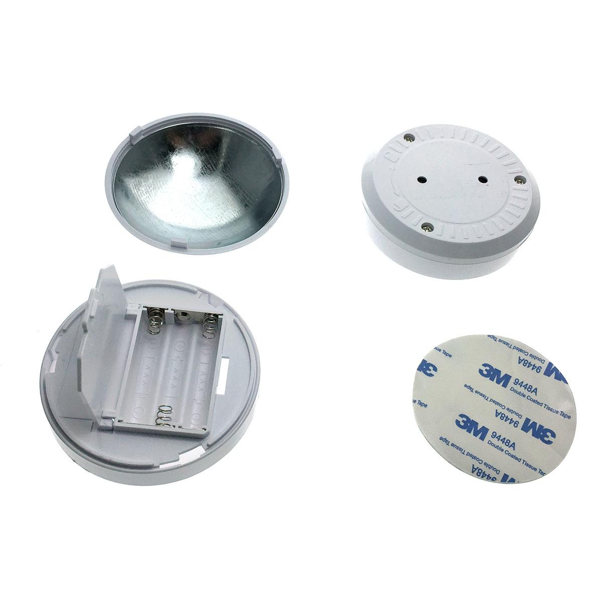 Светодиодный светильник - фонарик/ночник с датчиком света/освещенности и движения Espada E-UFOM360WL с подставкой на магните