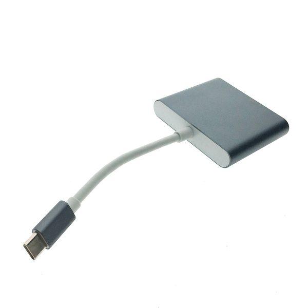 Видеоконвертер USB 3.1 type C to 2хHDMI, EusbC2hdm 4K Espada