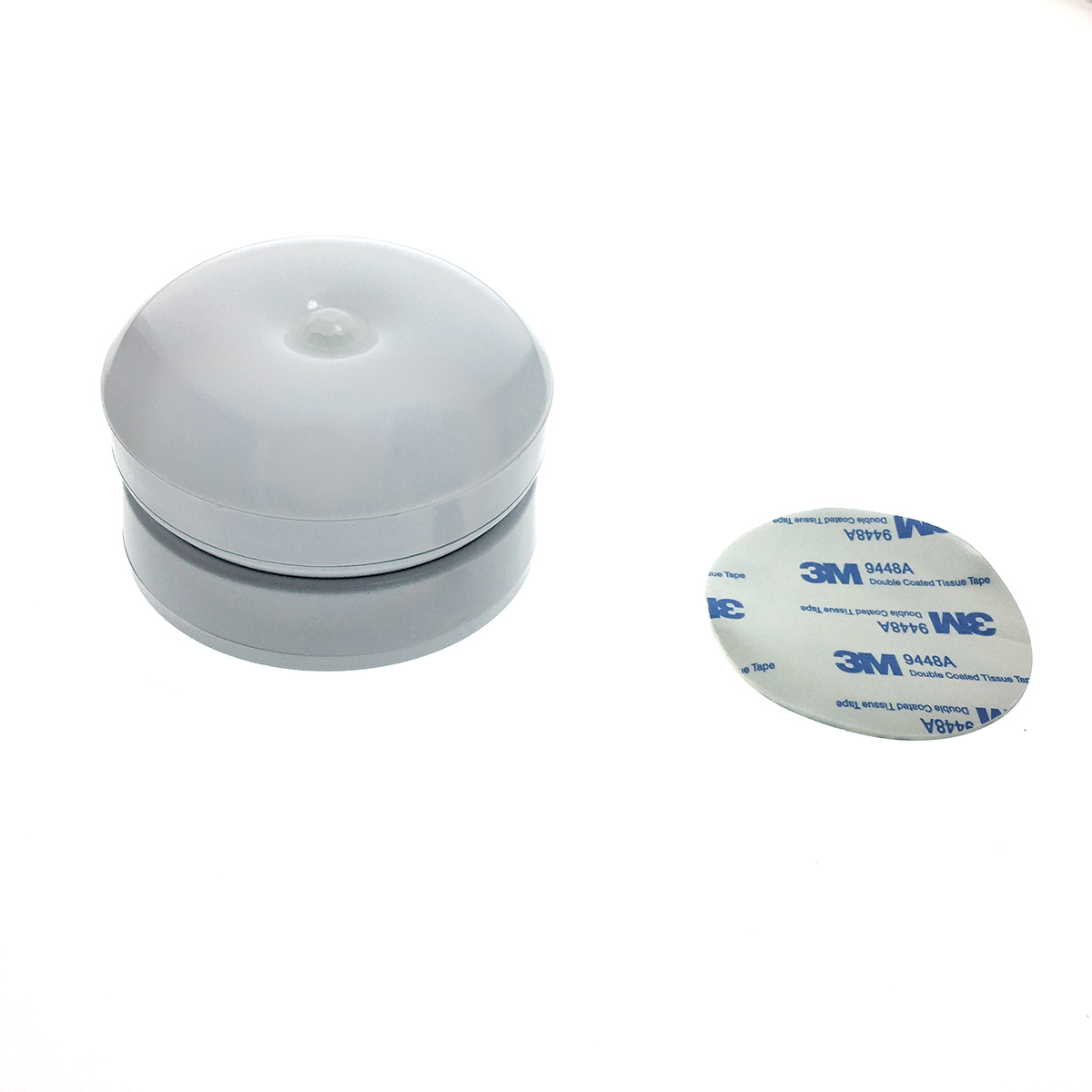 Светодиодный светильник - фонарик/ночник с датчиком света/освещенности и движения Espada E-UFOM360WW с подставкой на магните