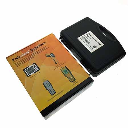 Измеритель CO2, температуры и влажности, USB цифровой HT-2000 с кейсом