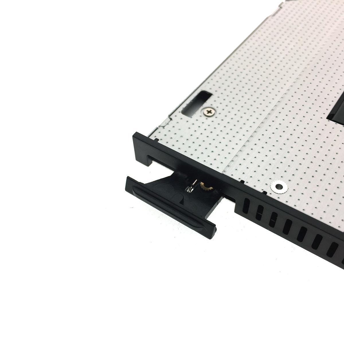 Адаптер оптибей Espada 95M2F NGFF/M2/ SSD to miniSATA 9,5 mm для подключения SSD NGFF/M2/ к ноутбуку вместо DVD со встроенным вентилятором /кулером/