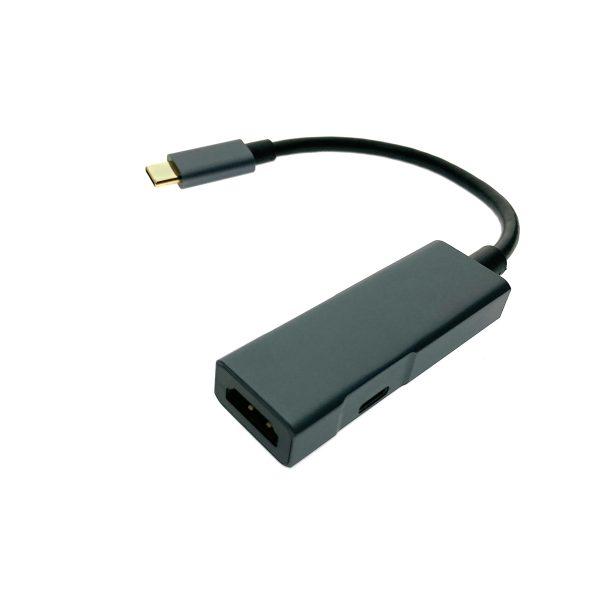 Видеоадаптер USB 3.1 type C to HDMI + PD, EtyChdPD Espada поддержка технологии быстрой зарядки Power Delivery
