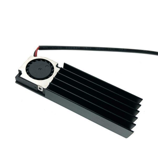 Радиатор для SSD М.2 2280 алюминиевый с активным охлаждением, Espada ESP-R4
