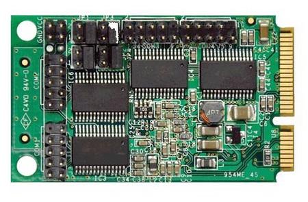 Контроллер последовательного порта Mini PCI-E 4xCOM