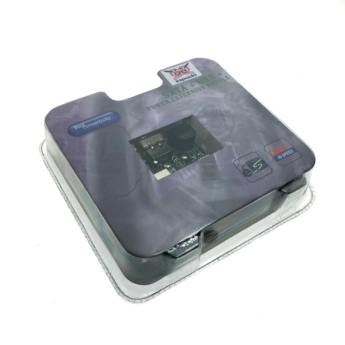 Контроллер SATA + USB + Power Extension module SD-SUREM1-B2 Espada box