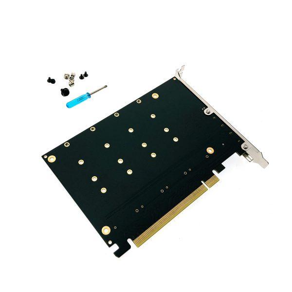 45306_1_Контроллер PCI-E 4 порта M.2 NVMe PCIe4NVME Espada