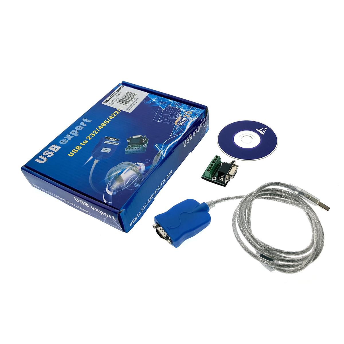 USB to RS422 адаптер, модель UR422, Espada